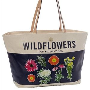 Kate Spade Wildflowers Canvas Tote